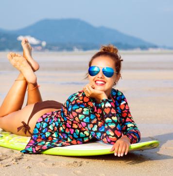 beach fashion outfit