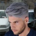 grey hairstyles men