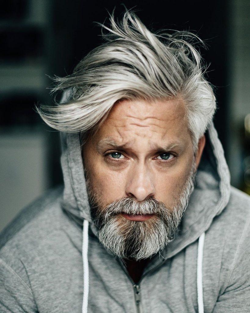 hair care - grey hair