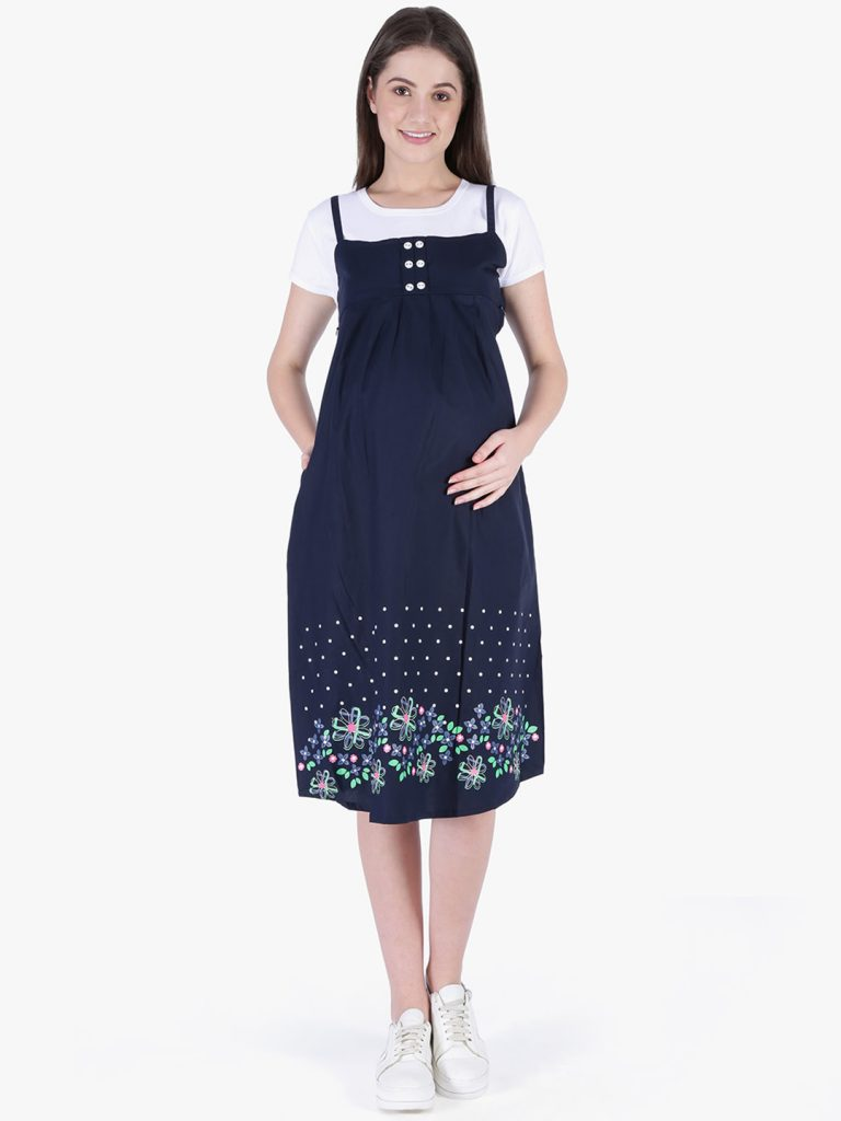 pinafore pregnant outfit